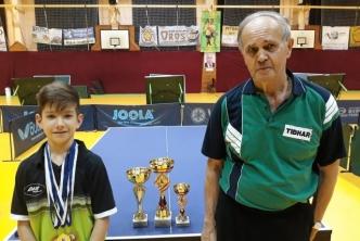 Szántosi Dávid volt a legeredményesebb versenyző az orosházi országos ranglistaversenyen!