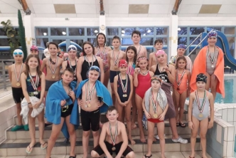 Körzeti Úszóverseny eredményei