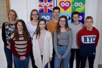 Kimagasló teljesítményű tanulók angol nyelvből